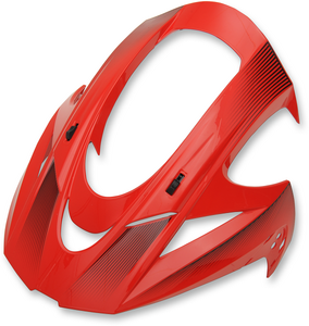 VISOR VAR D-STACK RED