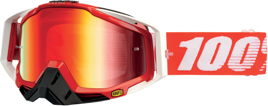 GOGGLE RC FIRE RED MIR RD