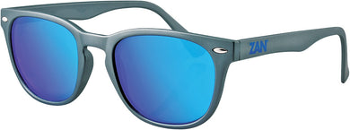 Throwback Nvs Sunglasses Matte Gunmetal W/Smoke Cyan