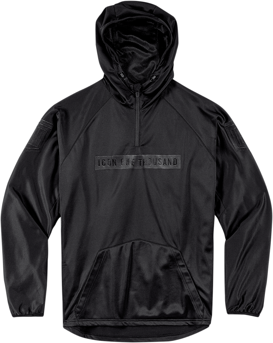 HOODY SHOCKRA BLACK