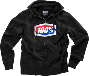 FLEECE ZIP OFFICIAL BK