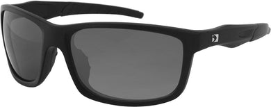Virtue Sunglasses Matte Black W/Smoked Lens
