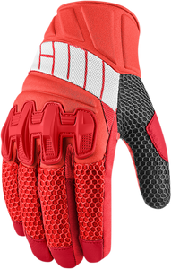 GLOVE OVERLORD RED