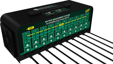 10 Bank Battery Charger