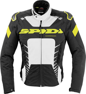 WARRIOR TEX JACKET BLACK/WHITE/FLO. YELLOW 3X