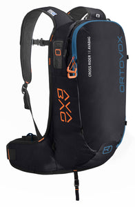 ORTOVOX CROSS RIDER 18 AVABAG KIT BLACK RAVEN