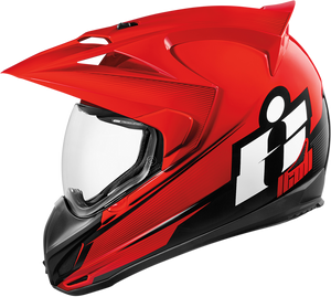 HELMET VAR D-STACK RED