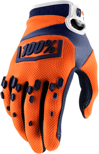 GLOVE AIR YTH ORG/NVY