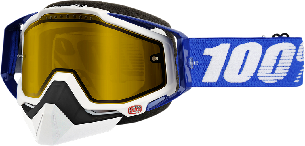 GOGGLE RC SNOW BL/YL