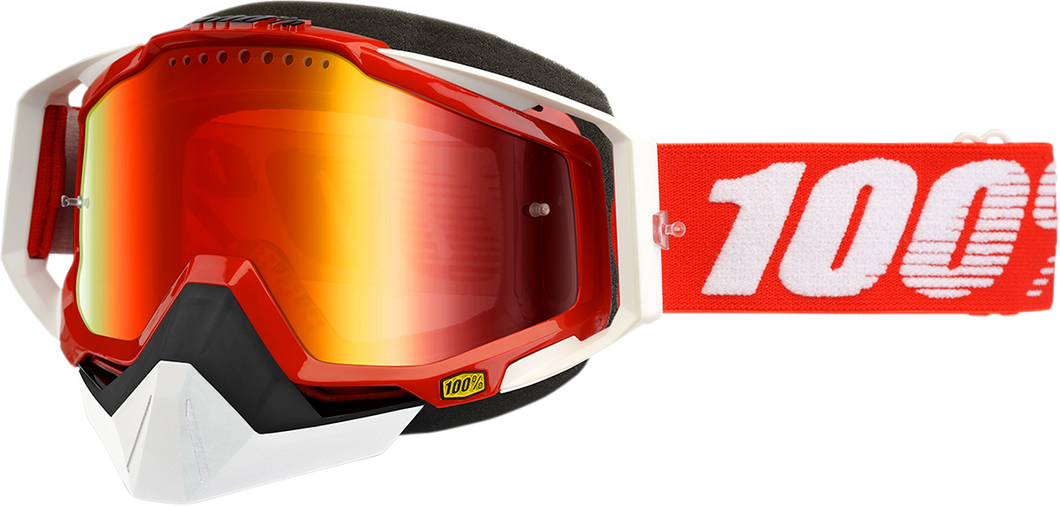GOGGLE RC SNOW RD/MIR RD