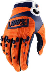GLOVE AIRMTIC ORG/NVY