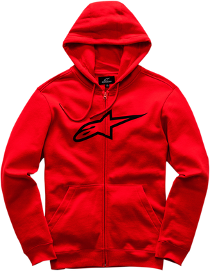 HOODY AGELESS RED