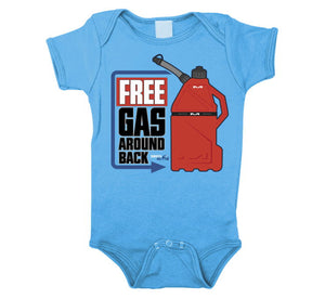 "Smooth Industries ""Free Gas"" Infant Romper"