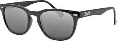 Throwback Nvs Sunglasses Gloss Black W/Smoke Lens