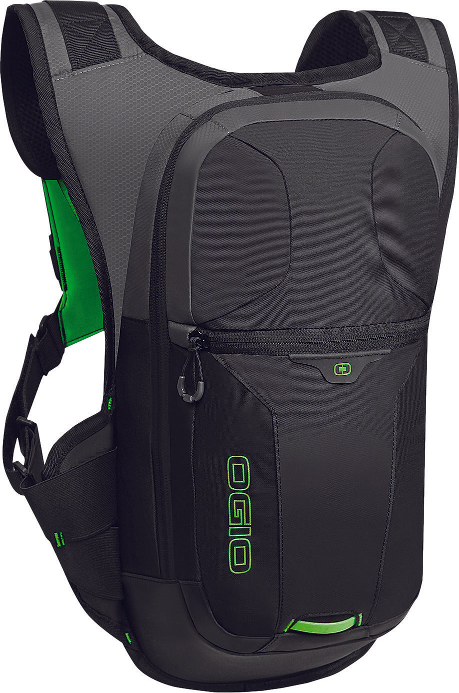ATLAS 3L PACK BLACK/HI-VIS GREEN