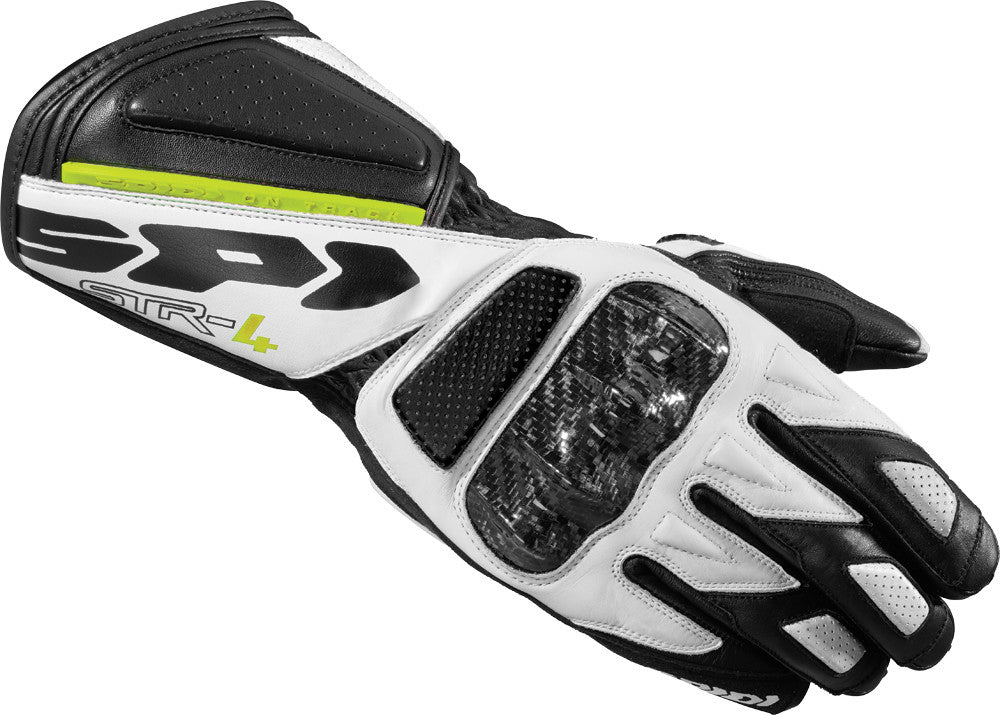 STR-4 GLOVES BLACK/WHITE 2X