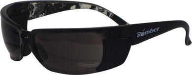 Z-Bomb Safety Sunglasses Smoke W/Smoke Lens