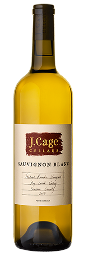 J. Cage Cellars 2017 TZABACO RANCHO VINEYARD Sauvignon Blanc - Region Wine Club LLC