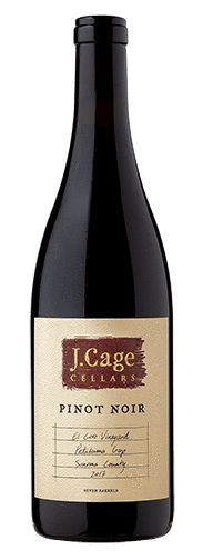 J. Cage Cellars  2017 El Coro Vineyard, Pinot Noir, Petaluma Gap - Region Wine Club LLC
