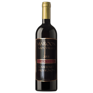 Maroon 2013 Black Label Napa Valley Cabernet Sauvignon - Region Wine Club LLC