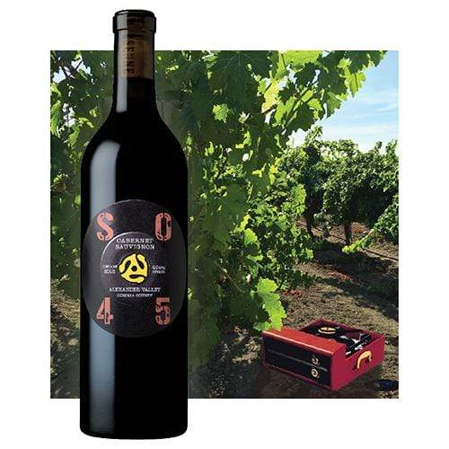 Mersenne 2015 Cabernet Sauvignon, SO45, Alexander valley - Region Wine Club LLC