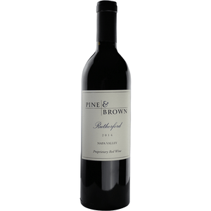 Pine & Brown 2014 Proprietary Red Blend Rutherford - Region Wine Club LLC