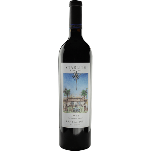 Starlite Vineyards 2015 Estate Zinfandel - Region Wine Club LLC