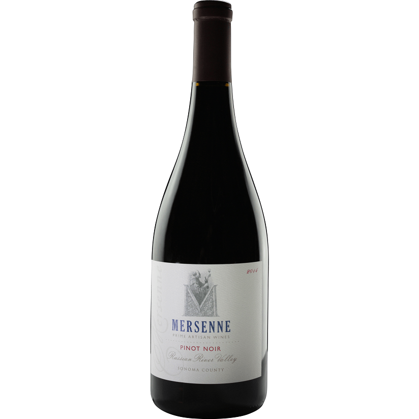 Mersenne 2014 Pinot Noir Russian River valley - Region Wine Club LLC