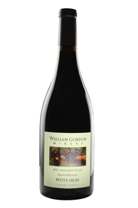 William Gordon 2012 Estate Petite Sirah, Alexander Valley - Region Wine Club LLC