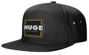 7 Panel Hat - Primary Logo