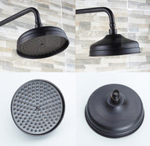 Shower Set with Slide Bar, Tub Spout and Hand Shower in Oil Rubbed Black (2 styles) - Edessa Kitchen & Bath