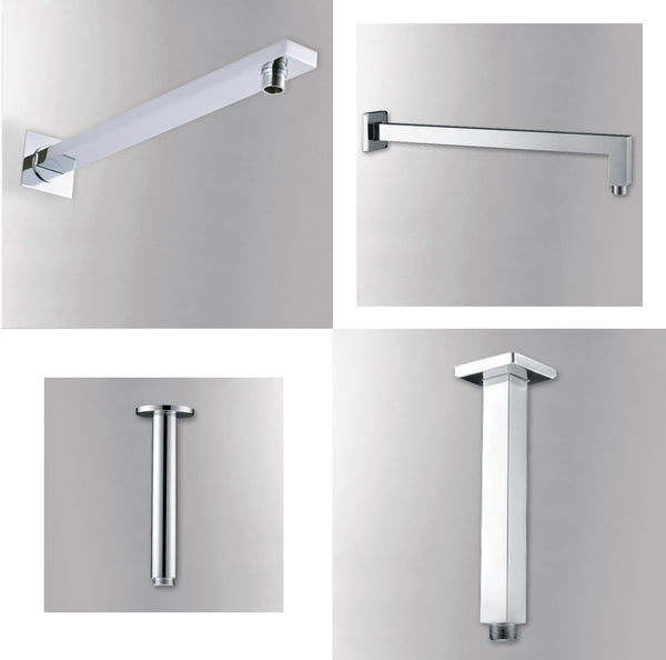 Shower Extension Arm for Shower Head in 6 styles (incl. ceiling arms) - Edessa Kitchen & Bath