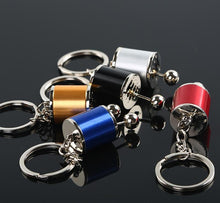 Load image into Gallery viewer, Gear Shift Keychain