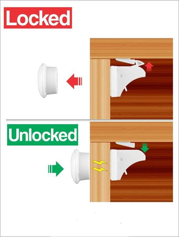 Image of Toddler Lock Kit - Child Safety Locks