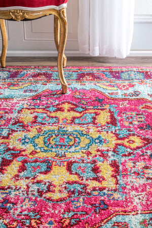 nuLOOM Multi-colored Vintage Corbett KKCB11A Area Rug