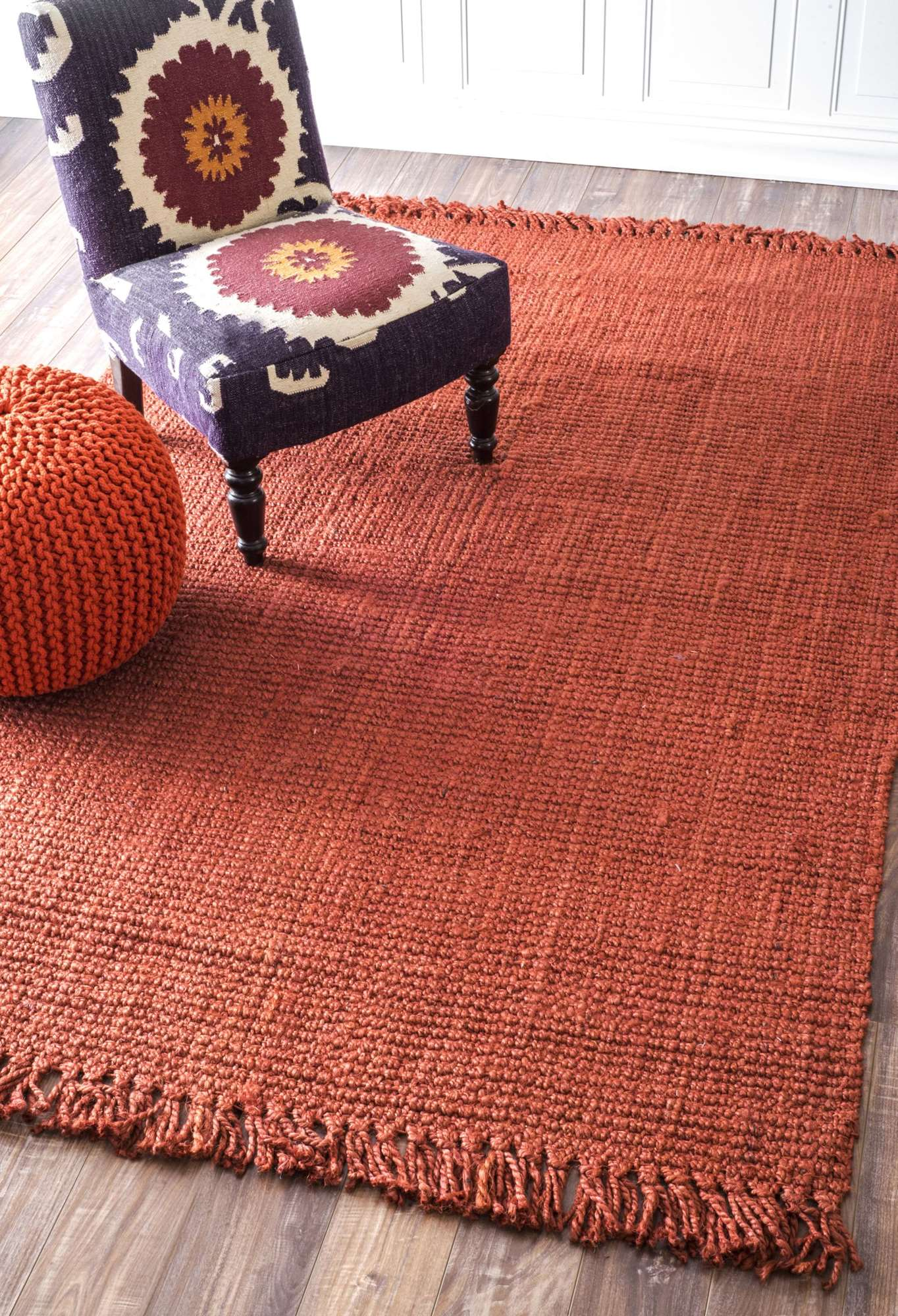nuLOOM Terra Hand Woven Chunky Loop Jute NCCL01F Area Rug