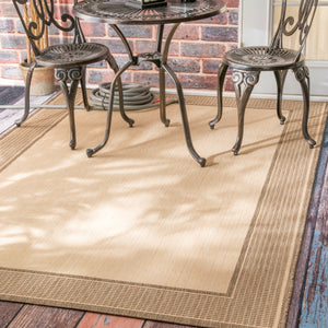 nuLOOM Machine Made Outdoor Gris OWDN05B Area Rug