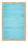 Anji Mountain Aganippe Hand-Loomed Blue Area Rug