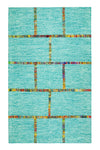 Anji Mountain Aditi Flatweave Blue Area Rug