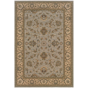 Oriental Weavers Ariana Blue/Ivory Floral 2153B Area Rug