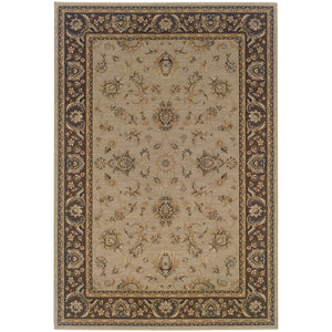 Oriental Weavers Ariana Blue/Brown Floral 2153D Area Rug
