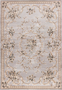 Kas Rugs Avalon 5604 Light Grey Aubusson Area Rug