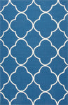 Jaipur Living Barcelona BA64 Blue Trellis/Chain/Tiles Area Rug