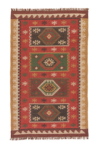 Jaipur Living Bedouin BD04 Red Tribal Area Rug