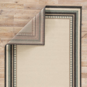 Jaipur Living Bloom BLO26 White Borders Area Rug