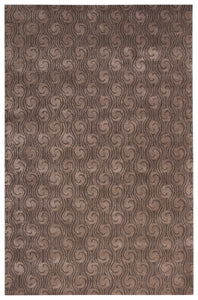 Jaipur Living Baroque BQ33 Gray/Silver Abstract Area Rug