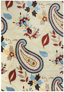 rizzy home bay side bs3570 multi colored paisley area rug rolledrugs