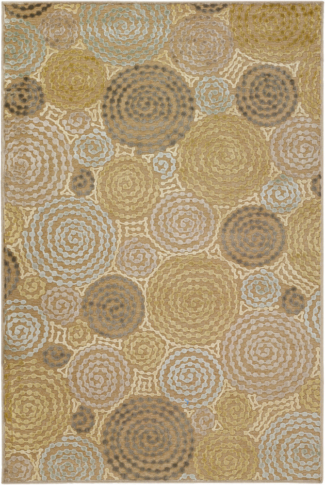 Surya Basilica BSL7128 Grey/Neutral Contemporary Area Rug