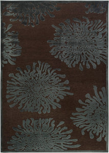 Surya Basilica BSL7159 Green/Brown Contemporary Area Rug