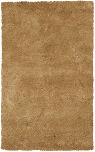 Kas Rugs Bliss 1567 Gold Shag Area Rug